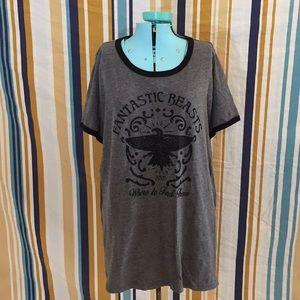 Torrid Fantastic Beasts Plus Size Shirt